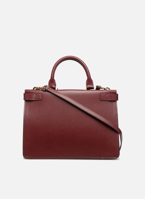 Handtaschen Michael Michael Kors Tatiana MD Satchel weinrot ansicht von vorne