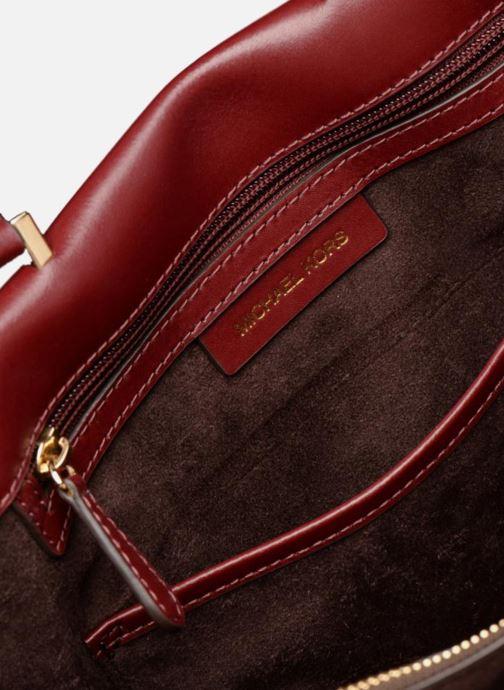 Handtaschen Michael Michael Kors Tatiana MD Satchel weinrot ansicht von hinten
