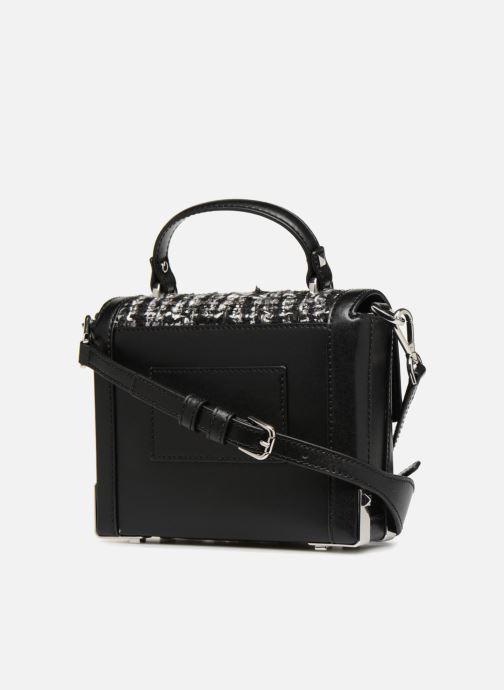 Bag Sm Black Tissu Kors Trunk Jayne Michael LAj5R4