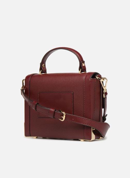 Handtassen Michael Michael Kors Jayne SM Trunk Bag Bordeaux rechts