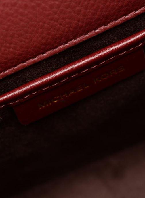 Handtassen Michael Michael Kors Jayne SM Trunk Bag Bordeaux achterkant