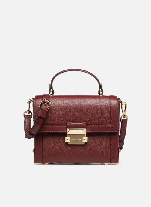 Handtassen Michael Michael Kors Jayne SM Trunk Bag Bordeaux detail