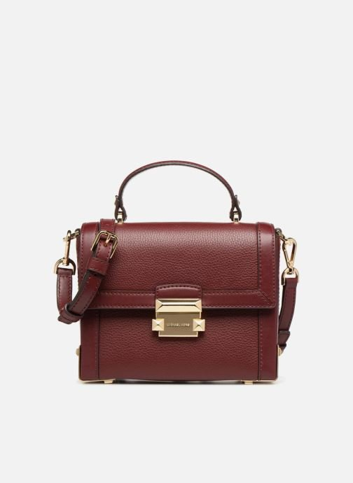 Handtassen Michael Michael Kors Jayne SM Trunk Bag Bordeaux detail