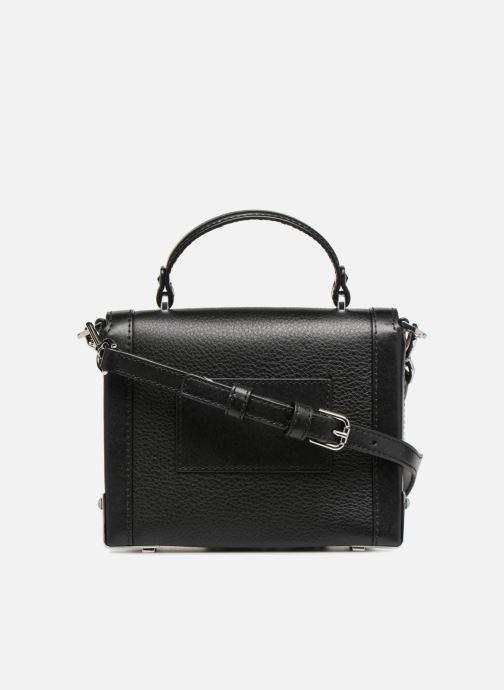 Handtaschen Michael Michael Kors Jayne SM Trunk Bag schwarz ansicht von vorne