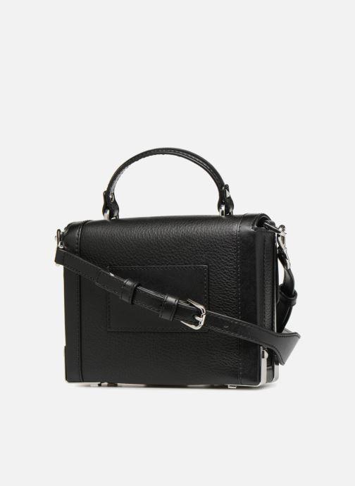 Handtaschen Michael Michael Kors Jayne SM Trunk Bag schwarz ansicht von rechts
