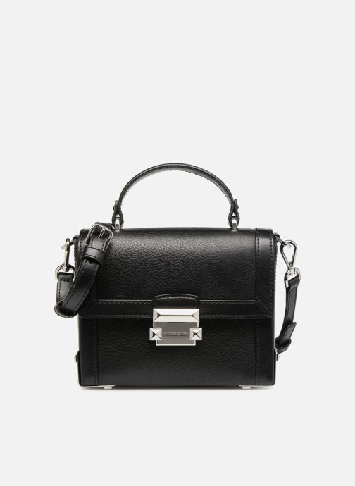 Handtaschen Michael Michael Kors Jayne SM Trunk Bag schwarz detaillierte ansicht/modell