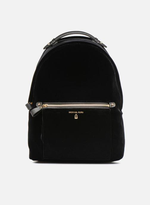 Rugzakken Michael Michael Kors Nylon Velours Kelsey LG Backpack Zwart detail