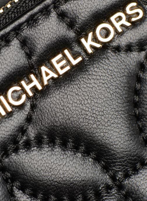 Petite Maroquinerie Michael Michael Kors WRISLET DOUBLE ZIP Noir vue gauche