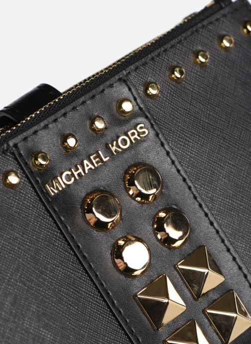 Pelletteria Michael Michael Kors WRISLET DOUBLE ZIP Nero immagine sinistra