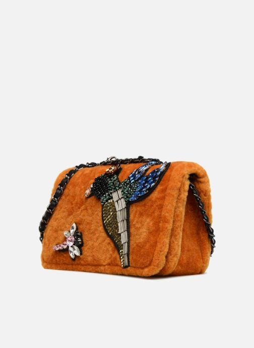 Handtaschen Essentiel Antwerp Rodin evening purse gelb schuhe getragen