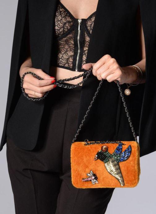 Handtaschen Essentiel Antwerp Rodin evening purse gelb ansicht von oben
