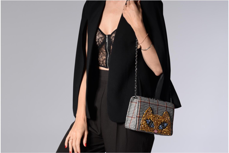 Handtaschen Essentiel Antwerp Raury small shoulderbag grau ansicht von oben