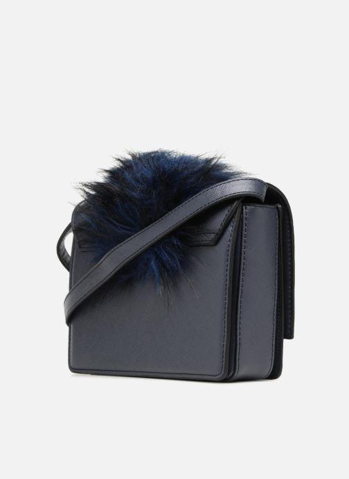Bolsos de mano Essentiel Antwerp Rioca small shoulderbag Azul vista lateral derecha