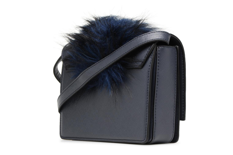 Handtaschen Essentiel Antwerp Rioca small shoulderbag blau ansicht von rechts