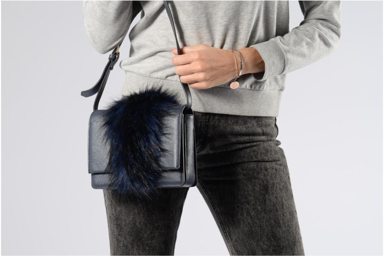 Handtaschen Essentiel Antwerp Rioca small shoulderbag blau ansicht von oben