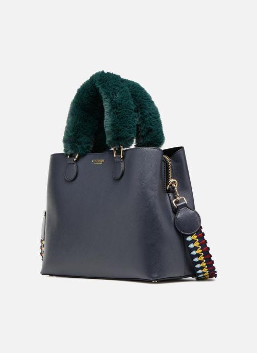Handtaschen Essentiel Antwerp Rives medium shopper blau schuhe getragen