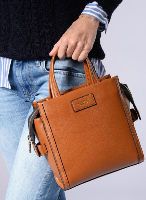 Sacs à main Essentiel Antwerp Rovely handbag Marron vue bas / vue portée sac