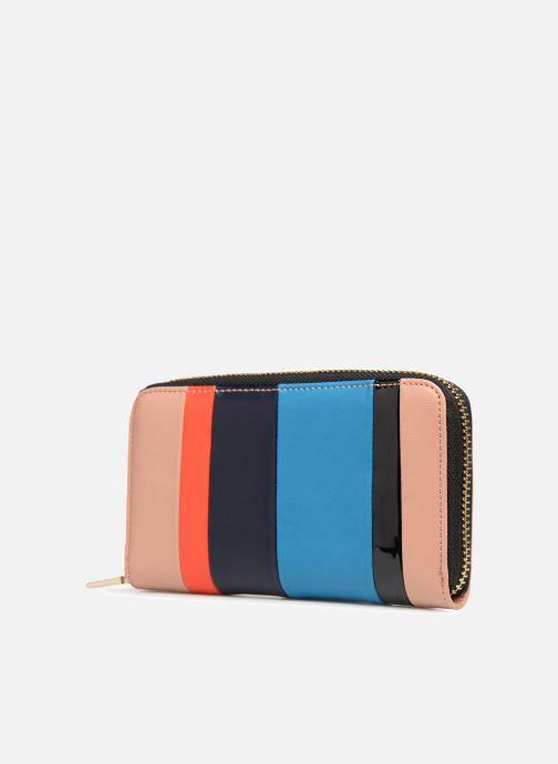 Pelletteria Essentiel Antwerp Rothko wallet Multicolore modello indossato