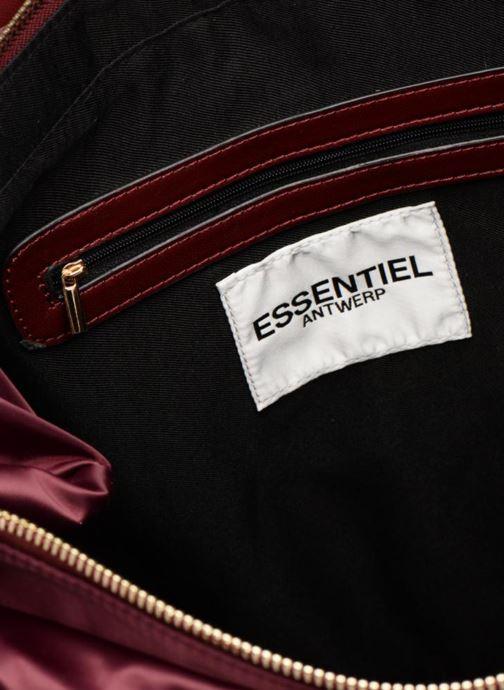 Equipaje  Essentiel Antwerp Reverest quilted nylon shopper Vino vistra trasera