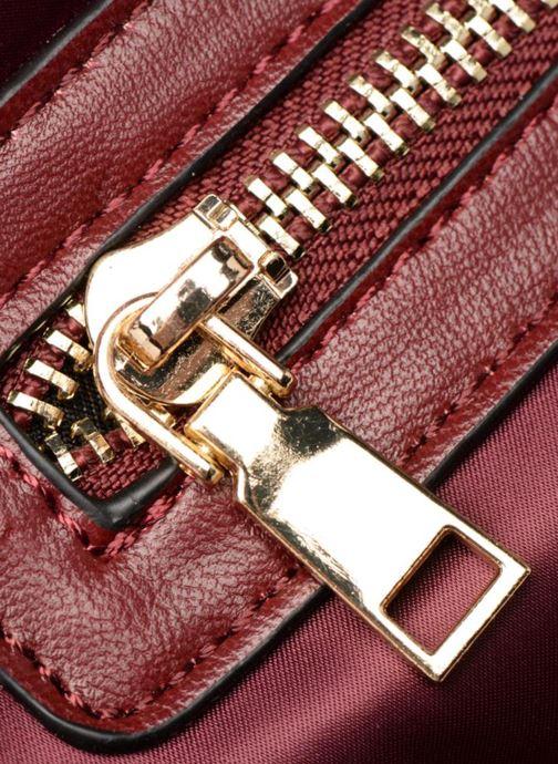 Bolsos de mano Essentiel Antwerp Reverest quilted nylon shopper Vino vista lateral izquierda