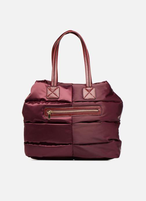 Bagages Essentiel Antwerp Reverest quilted nylon shopper Bordeaux vue détail/paire