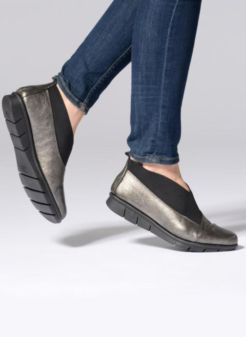 Mocassins The Flexx Alesy Gris vue bas / vue portée sac