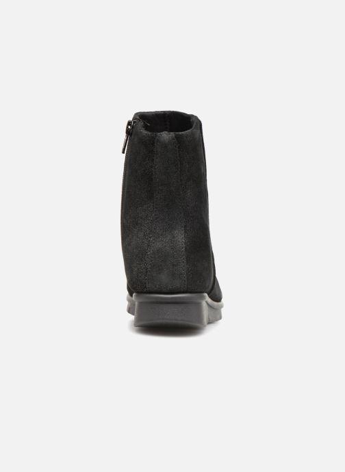 Bottines et boots The Flexx Villeneve Noir vue droite
