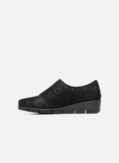 Mocassins The Flexx Run For Studs Noir vue face