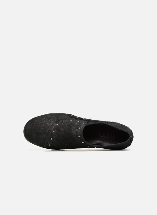 Mocassins The Flexx Run For Studs Noir vue gauche