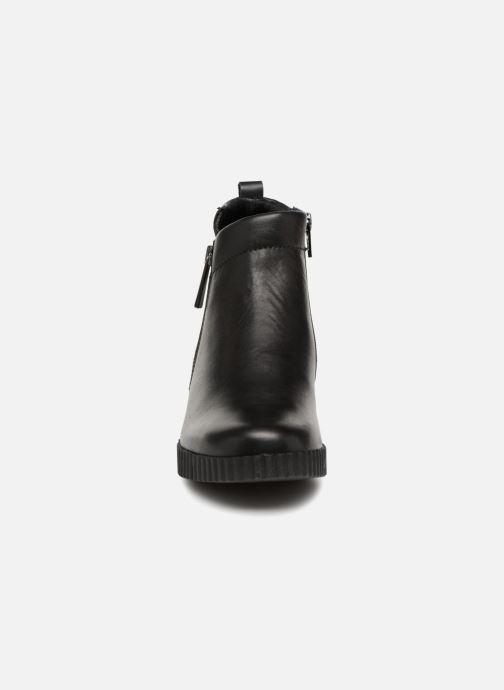 Bottines et boots The Flexx Cate Mos Noir vue portées chaussures