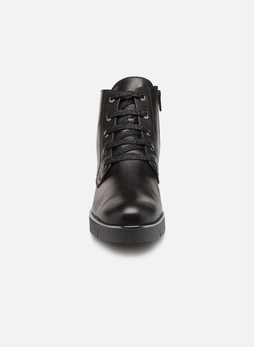 Bottines et boots The Flexx Rudy Noir vue portées chaussures