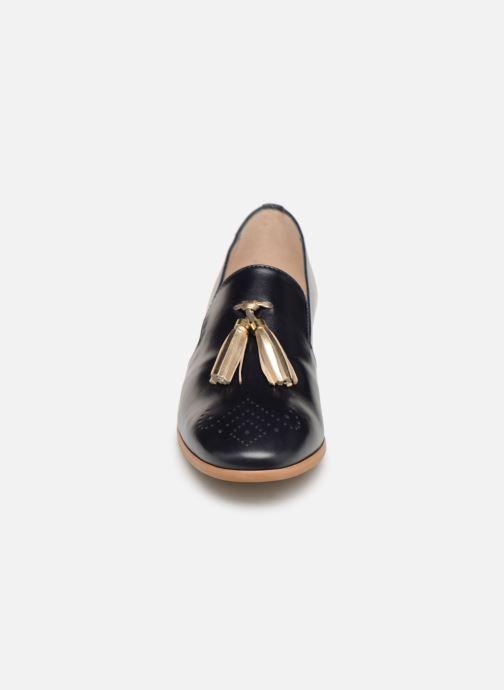 Mocassins Georgia Rose Taquine Bleu vue portées chaussures