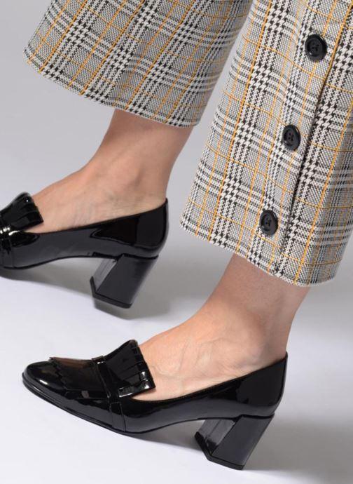 Zapatos de tacón Georgia Rose Tactil Negro vista de abajo