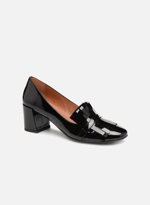Zapatos de tacón Georgia Rose Tactil Negro vista de detalle / par