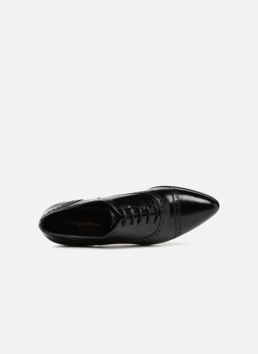 Chaussures à lacets Georgia Rose Taperfo Noir vue gauche