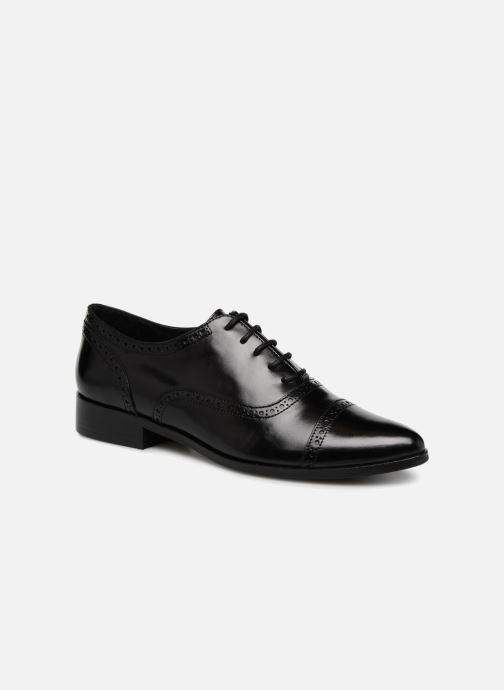 Chaussures à lacets Georgia Rose Taperfo Noir vue détail/paire