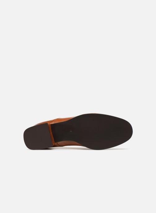 Chaussures à lacets Georgia Rose Tafango Marron vue haut