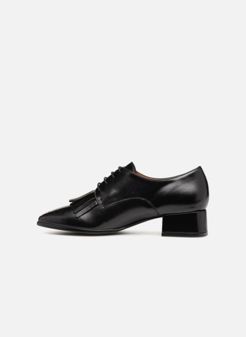 Chaussures à lacets Georgia Rose Tafango Noir vue face