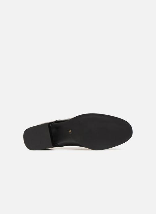 Chaussures à lacets Georgia Rose Tafango Noir vue haut