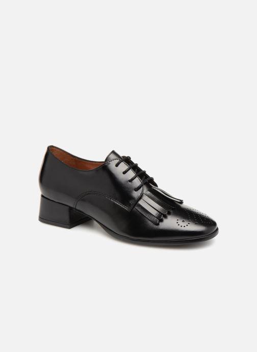 Chaussures à lacets Georgia Rose Tafango Noir vue détail/paire