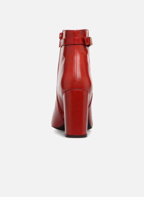 Bottines et boots Georgia Rose Taroja Rouge vue droite