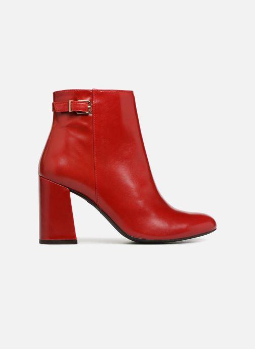 Bottines et boots Georgia Rose Taroja Rouge vue derrière