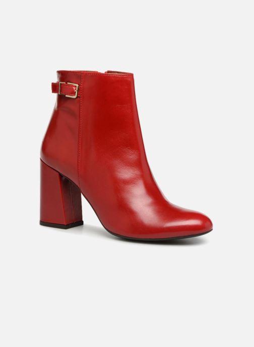 Bottines et boots Georgia Rose Taroja Rouge vue détail/paire