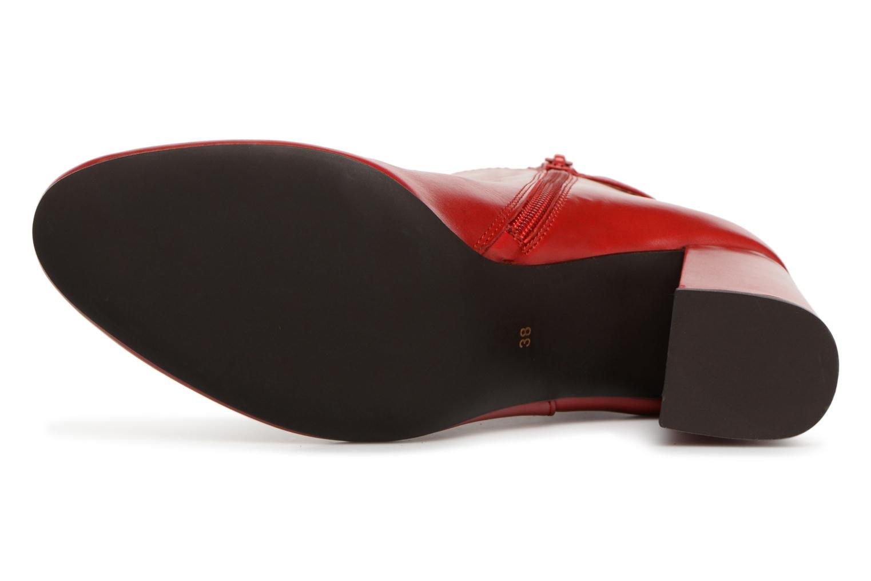 Stiefeletten & Boots Georgia Rose Taroja rot ansicht von oben
