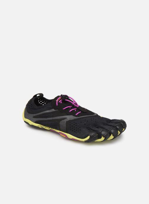 Chaussures de sport Vibram FiveFingers V-Run W Noir vue détail/paire