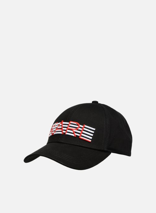 Casquettes Karl Lagerfeld K/STRIPES CAP Noir vue détail/paire