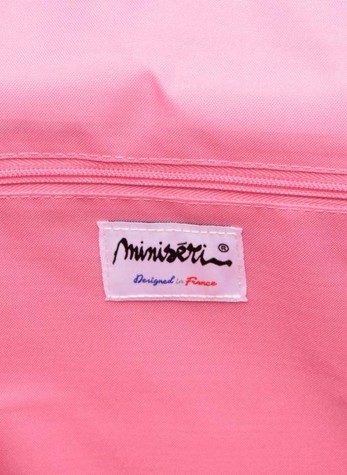 Per la scuola MiniSéri Cartable 39cm Rosa immagine posteriore