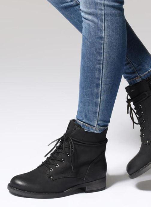 Bottines et boots I Love Shoes SUBLEAU Noir vue bas / vue portée sac