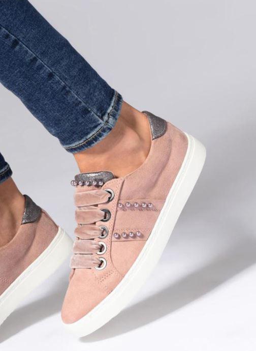 Deportivas I Love Shoes Serina Rosa vista de abajo