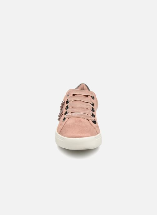 Baskets I Love Shoes Serina Rose vue portées chaussures